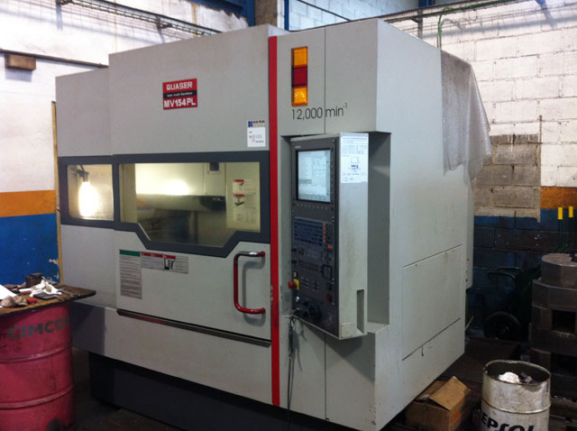 Quaser machining center MV154PL